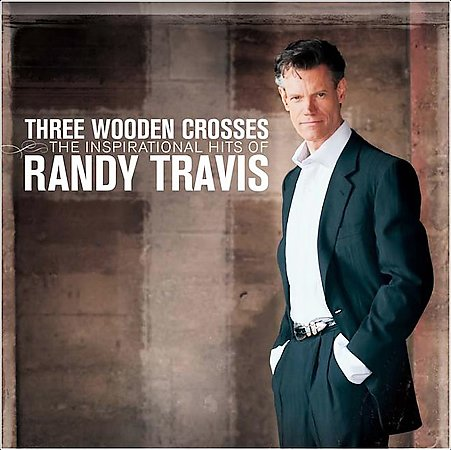 Randy Travis three wooden crosses