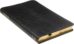 Folkbibeln slimline svart