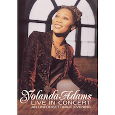 Yolanda Adams Live in washington