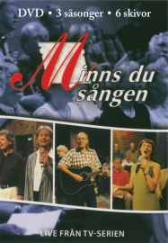 Minns du sången alla 3 DVD