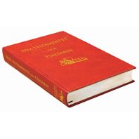 Folkbibeln NT & Psaltaren röd