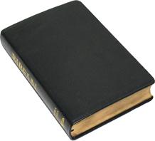 Folkbibeln storformat äkta skinn