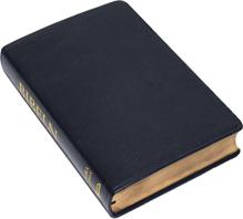 Folkbibeln storformat konst svart