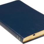 Folkbibeln slimeline konst blå