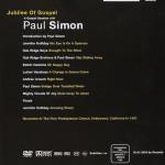 Paul Simon Jubelee schedle