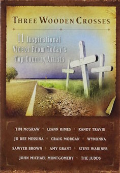 Three wooden crosses1