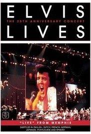Elvis 25th anniv live memphis